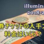 大阪城公園イルミネーション2018-2019割引券チケットの入手方法!料金はいくら?