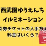 西武園ゆうえんちイルミ・イルミージュ2019-2020割引券チケットの入手方法!料金はいくら?