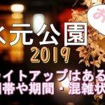 水元公園の桜2019のライトアップはある?時間帯や期間と混雑状況も